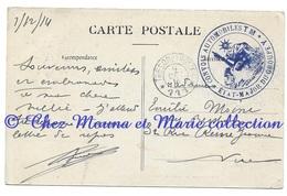 WWI - FERTE MILON - CONVOIS AUTOMOBILES GROUPE Y SP 111 - POUR MOINE A NICE - CPA MILITAIRE - War 1914-18