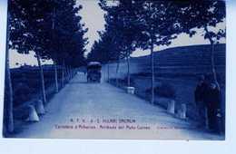 ESPAGNE AUTO CORREO VOITURE DE POSTE à HILARI SACALM TC124 - Correos & Carteros