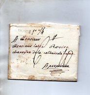 Bureau Français De ROME,L.A.C. Du 24/3/1789 Pour ROVIRA à PERPIGNAN. - Poststempel (Briefe)