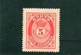 CRETE 1901 * - Crète