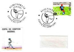 ITALIA - 1981 PARMA Coppa Dei Campioni Di Baseball - Baseball
