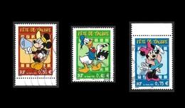 FRANCE 2004 -  YT  3641 à 3643    -  Disney  - Oblitérés - Gebruikt