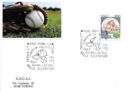 ITALIA - 1986 PARMA 1° Raduno Allenatori Di Baseball E Softball - Pallina E Cappellino - Baseball