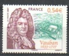 "France 2007 Y&T** N° 4031  "" Sébastien Le Preste De Vauban "" - Unused Stamps"