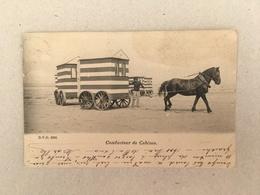 OOSTENDE - CONDUCTEUR DE CABINES 1903 - Oostende