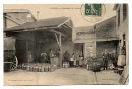 CPA. Caurel Dans La Marne  ( 51 ) Interieur De La Laiterie. ( 638 Hab )                                        .E.58 - Autres Communes