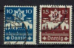 Danzig 1937 // Mi. 267/268 O - Danzig