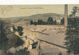 69 // COURS    Usine De La Fargette,  Colorisée, Toilée - Cours-la-Ville