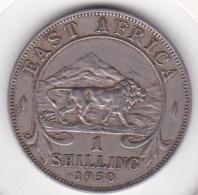 East Africa 1 Shilling 1950 George VI.  KM# 31 - Monnaies