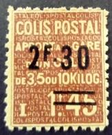 France 1938 Colis Postaux Apport à La Gare Surchargé Overprinted Yvert 147 (*) MNG - Paketmarken