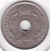 British West Africa 1 Penny 1936 H. Edward VIII. Sup/ XF. KM# 16 - Monnaies