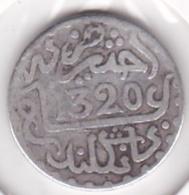 Maroc. 1 Dirham (1/10 RIAL) AH 1320 Londres. Abdül Aziz I, En Argent - Marruecos