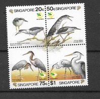1994 MNH Singapore Mi 733-36  Postfris** - Singapore (1959-...)