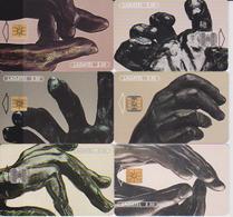 #11 - MEXICO-37 - RODIN SET OF 6 CARDS - ART - STATUE - Mexico