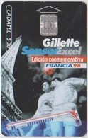#11 - MEXICO-44 - FOOTBALL WORLD CUP '98 FRANCE - GILLETTE - Mexico