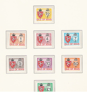 Isle Of Man 1975 To Pay, Postage Due, Mi 9-16, MNH - Man (Insel)