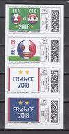 Football / Soccer / Fussball - WM 2018:  Frankreich  Online-Marken (*) - 2018 – Russia