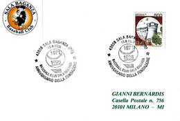 ITALIA - 1996 SALA BAGANZA (PR) 25° Fondazione Baseball Club - Baseball