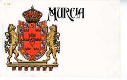 TARJETA ESCUDO HERALDICO MURCIA     TC 131 - Murcia