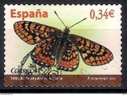Spain 2010 - Moths - Self-Adhesive - 1931-Hoy: 2ª República - ... Juan Carlos I