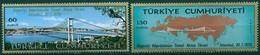 Turquie - 1970 - Yt 1931/1932 - Pont Sur Le Bosphore - ** - Unused Stamps