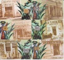 #11 - MEXICO-56 - PULQUERIAS SET OF 6 CARDS - Mexico