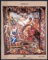 Spain 2010 - Sheet - Culturel Heritage - Zenobia Tapestry - 1931-Hoy: 2ª República - ... Juan Carlos I