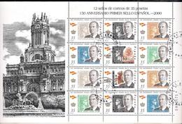 Spain 2010 - Sheet - The 150th Anniversary Of Spanish Stamps - 1931-Hoy: 2ª República - ... Juan Carlos I