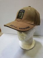 Casquette Verte AIRBORNE 82 Nd ALL AMERICAN Paratrooper JEEP CAP US VO - Cascos