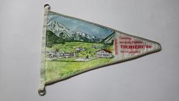 Fanion Voyage Tschierv  Camping Und Hotel Sternen In Munstertal Suisse - Organizations