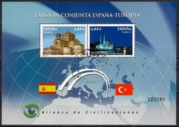 Spain 2010 - The Alliance Of Civilizations - Joint Issue With Turkey - 1931-Hoy: 2ª República - ... Juan Carlos I