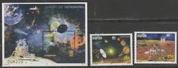 Albanie Europa 2009 N° 3007/ 3008 Et BF N° 136 ** Astronomie - Europa-CEPT