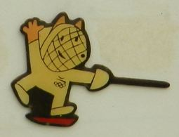 C329 Pin's Jeux Olympiques Olympic Games JO  BARCELONE Barcelona ESCRIME ACHAT IMMEDIAT - Olympic Games