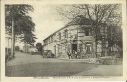 My-lez-Hamoir -- Grand'route D'Aywaille à Bomal S /Ourthe - Hôtel De La Côte.     (2 Scans) - Hamoir