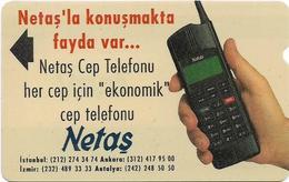 Turkey - TT - Alcatel - R Advert. Series - Netas Cellular Phone, R-059, 100U, 1994, Used - Turquie