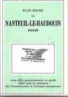 PLAN DE POCHE. D 60   NANTEUIL LE HOUDOUIN AVEC PUB - Technical Plans