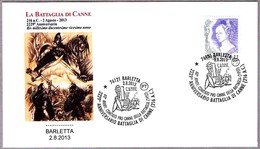 2229 Aniv. BATALLA DE CANNE - ANIBAL - 2229 Years Battle Of Canne. Barletta 2013 - Militares