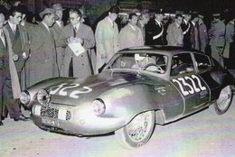 Panhard Gilco Colli Berlinetta   -  Rallye Mille Miglia 1954  -  Pilotes: Bindi/Bruni  -  CPM - Rally