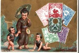 CHROMO CHOCOLAT VAN HOUTEN & ZOOM WEESP HOLLANDE JAPON - Van Houten