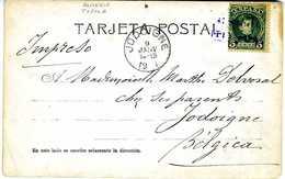 TARJETA  1903  MATASELLO CARTERIA TIJOLA   FOTOGRAFIA  A VER TC146 - 1889-1931 Regno: Alfonso XIII