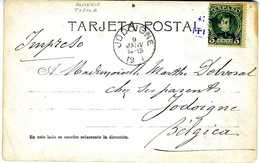 TARJETA  1903  MATASELLO CARTERIA TIJOLA   FOTOGRAFIA  A VER TC146 - 1889-1931 Royaume: Alphonse XIII
