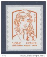 N° 854 Marianne Adhésif Année 2013, Valeur Faciale 1,00 € - Adhésifs (autocollants)