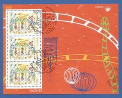 Portugal   1998   Mi.Nr. Block 137 (2254) , EUROPA CEPT - Nationale Feste - Gestempelt / Fine Used / (o) - 1998