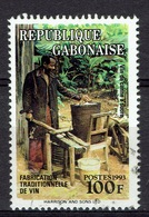 Gabon, Sugar Cane Wine, 1993, VFU - Gabon