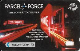 UK (Paytelco) - Parcel Force - PYPR014 - 1PPFA - 8.800ex, Used - [ 4] Mercury Communications & Paytelco