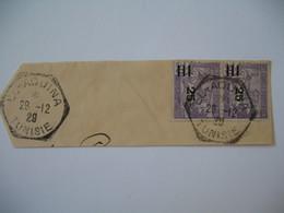 Tunisie  Oblitération  Choisie de EL Aouina  Sur Fragment  Voir Scan - Tunisia (1888-1955)