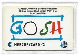 UK (Paytelco) - G.O.S.H. - PYGO001 - 1PGSA - (Without Logo On Back) 4.000ex, NSB - [ 4] Mercury Communications & Paytelco