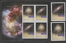Bulgarie Europa 2009 N° 4222/ 4223 Et BF N° 259 ** Astronomie - Europa-CEPT