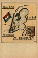 NEDERLAND ZAL HERRIJZEN 5 MEI 10 MEI DEN HAAG HERDENKINGS ETSEN 1940 1945 - Guerra 1939-45