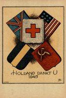 HOLLAND DANKT U  HERDENKINGS ETSEN 1940 1945 - Guerra 1939-45